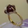Пурпурное сердце» кольцо рубиновое с бриллиантами1