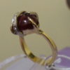 """Пурпурное сердце"""" кольцо рубиновое с бриллиантами1"""